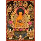 Thangka Shakyamuni 128 x 173 cm