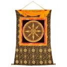 Thangka Mandala Stupa Mantra 95 x 116 cm