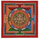 Yantra  Thangka - Ganesh 34cm x 34cm