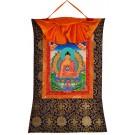 Thangka - Shakyamuni 58 x 85 cm