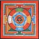 Thangka - Yantra Nr. 4 - ca. 36 x 36cm