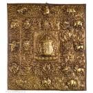 Votivtafel - Tibetischer Kalender 39 x 35,5 cm