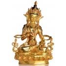 Vajrasattva Dorje Sempa Statue sitzende Position Vorderansicht