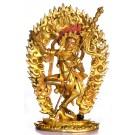 Vajravarahi 20 cm vollfeuervergoldet Buddha Statue