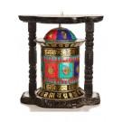 Wand-Gebetsmühle Mosaik - 43 cm