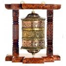 Wandgebetsmühle  20 cm  Tashi Tagey