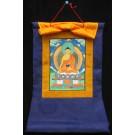 Thangka Meditationsbuddha Ratnasambhava