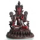 Weiße Tara Statue 25 cm Resin