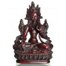 Weiße Tara Statue 15,5 cm Resin
