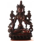 Weiße Tara Statue 20 cm Resin
